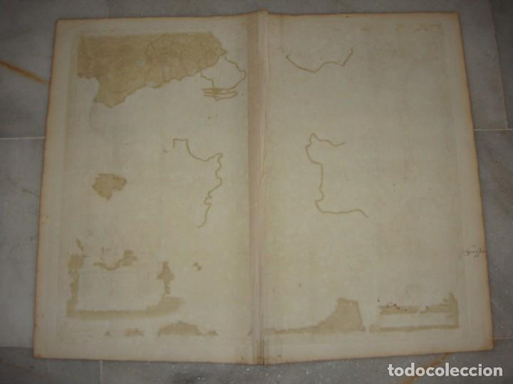 Arte: Mapa Grabado de España y Portugal. 1680. VISSCHER NICOLAS. Hispania et Portugalliae Regna. - Foto 6 - 140758750