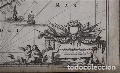Arte: Mapa de Perú (América del Sur), 1671. Jonh Ogilby - Foto 7 - 141102038