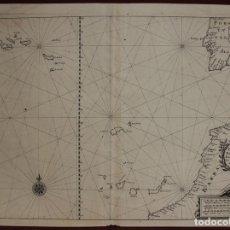 Arte: ISLAS CANARIAS (ESPAÑA), MADEIRA Y AZORES (PORTUGAL) Y ÁFRICA, PORTUGAL Y ESPAÑA, 1638. MERIAN. Lote 141507217