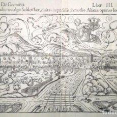 Arte: GRAN MAPA DE LA CUIDAD DE SELESTAT EN ALSACIA POR RUDOLF MANUEL DEUTSCH (1525-1571)ALREDEDOR DE 1560. Lote 141892542