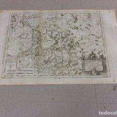 Arte: MAPA TOPOGRÁFICO DEL BAJO RHIN (ALEMANIA), 1787. PRETOT/MOITHEY/HERAULT. Lote 143543444