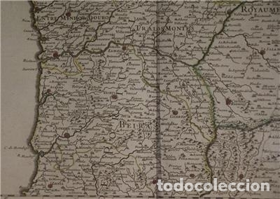 Arte: Gran mapa del norte de Portugal y Galicia, Asturias, León, ... (España), 1778. Jaillot /Dezauche - Foto 8 - 143943665