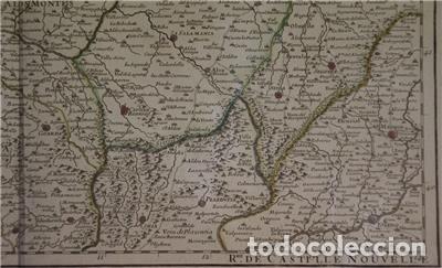 Arte: Gran mapa del norte de Portugal y Galicia, Asturias, León, ... (España), 1778. Jaillot /Dezauche - Foto 9 - 143943665