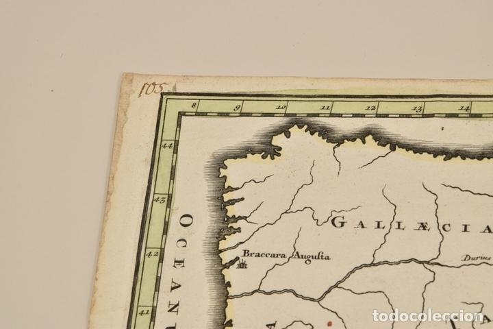 Arte: Gran mapa de África del norte y mar Mediterraneo (Europa), 1720. Seutter - Foto 10 - 144565908