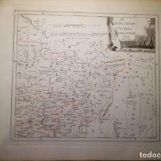 Arte: DES KÖNIGREICHS NAVARRA NORDÖSTLICHER THEIL.VIENA,1789.FRANZ VON REILLY.RONCAL,MUNIAIN,RONCESVALLES. Lote 144961302