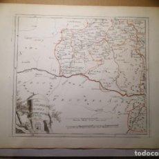 Arte: KÖNIGREICHS NAVARRA SÜDWESTLICHER THEIL.VIENA,1789. FRANZ VON REILLY. LOGROÑO,ESTELLA,ARNEDO,CORELLA. Lote 144962490