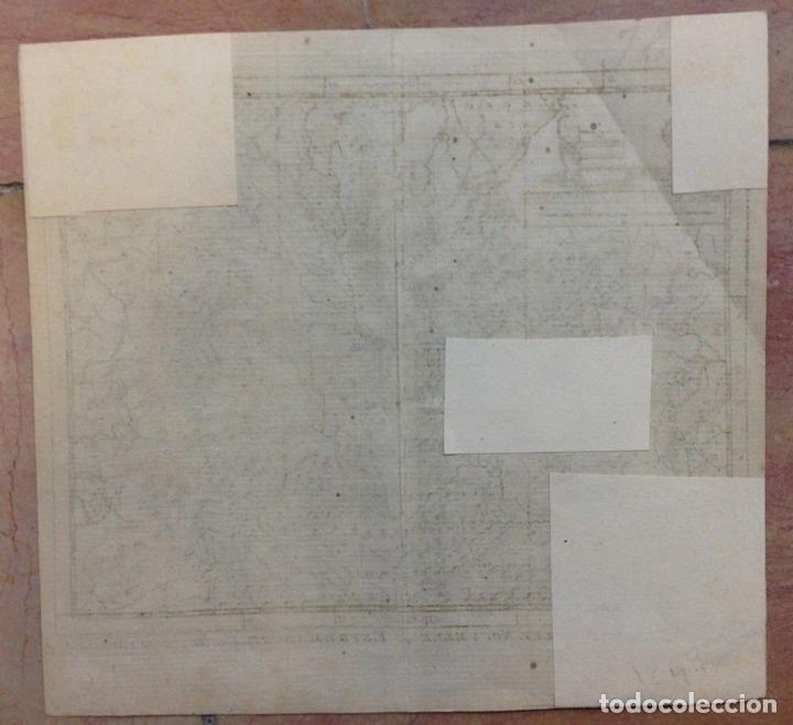 Arte: Mapa de Extremadura y Castilla (España), 1715. P. Van der Aa. - Foto 4 - 145047744