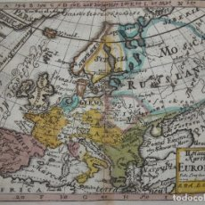 Arte: MAPA DE EUROPA ANTIGUA, 1733. ANSELM DESING. Lote 145978561