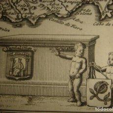 Arte: MAPA DE ANDALUCÍA, 1715, ORIGINAL, VAN DER AA, ESPLÉNDIDO ESTADO. Lote 146157594