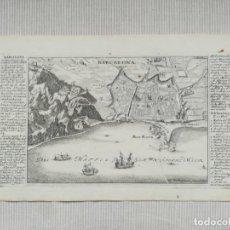Arte: MAPA GRABADO DE BARCELONA - STRIDBECK - BODENEHR - AÑO 1715 - ES ORIGINAL. Lote 146408278