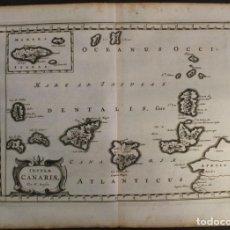 Arte: MAPA DE LAS ISLAS CANARIAS (ESPAÑA) Y MADEIRA (PORTUGAL), 1656. NICOLAS SANSON. Lote 146726704