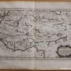 Arte: MAPA DEL OCCIDENTE DE ÁFRICA E ISLAS CANARIAS (ESPAÑA), 1656. SANSON. Lote 146776745