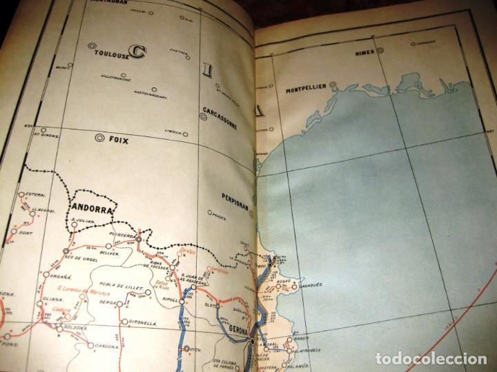 Arte: LIBRO CARTA TELEGRAFICA Y TELEFONICA DE ESPAÑA .PLANOS Y MAPAS año 1923 - Foto 5 - 219020198