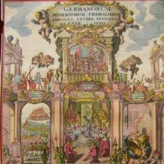 Arte: FRONTISPICIO O PORTADA DE ATLAS DE ALEMANIA (EUROPA), CA.1703. HEINRICH SCHERER/MONTALEGRE. Lote 147840022