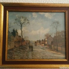 Arte: CAMILLE PISSARRO-1830-1903-ROUTE DE LOUVECIENNES N.100519-LOUVRE,MUSÉE DE L'IMPRESSIONNISME. Lote 148186056
