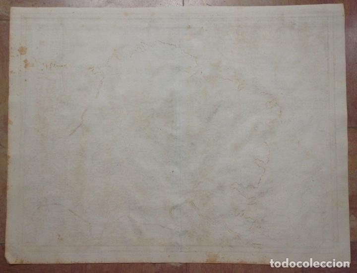 Arte: Gran mapa de Galicia y Asturias (España), 1696. Rossi/Cantelli/Barbey - Foto 8 - 148203053