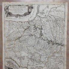 Arte: GRAN MAPA DE VIZCAYA Y NAVARRA (ESPAÑA), 1790. ROSSI/CANTELLI. Lote 148212360