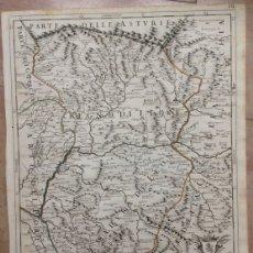 Arte: GRAN MAPA DE LEÓN (ESPAÑA, 1696. ROSSI/CANTELLI/BARBEY. Lote 148221234