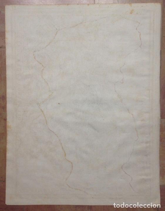 Arte: Gran mapa de León (España, 1696. Rossi/Cantelli/Barbey - Foto 9 - 148221234