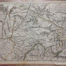 Arte: GRAN MAPA DE CASTILLA (ESPAÑA), 1696. ROSSI/CANTELLI/BARBEY. Lote 148221741