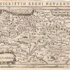 Arte: MAPA DE NAVARRA DEL SIGLO XVII. Lote 148295102