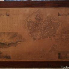 Arte: PLANO GEOMÉTRICO DE LA CIUDAD DE BARCELONA. 1842. Lote 148345924