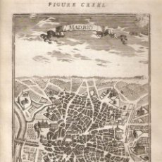 Arte: PLANO DE MADRID DEL SIGLO XVII. Lote 148438218
