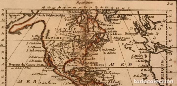 Arte: Mapa de América del norte, centro y sur, 1791. J. B. Nolin - Foto 3 - 148961485