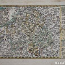 Arte: MAPA DE SUIZA (EUROPA), 1720. SCHREIBER. Lote 149396426