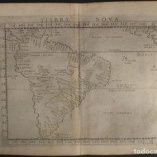 Arte: MAPA DE AMÉRICA DEL SUR, 1574. PTOLOMEO/RUSCELLI/ZILETTI. Lote 149519769