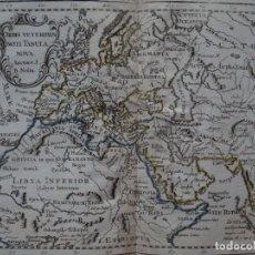 Arte: MAPA DE EUROPA, ÁFRICA Y ASIA, 1781. J.B. NOLIN/ MONDHARE. Lote 149617594