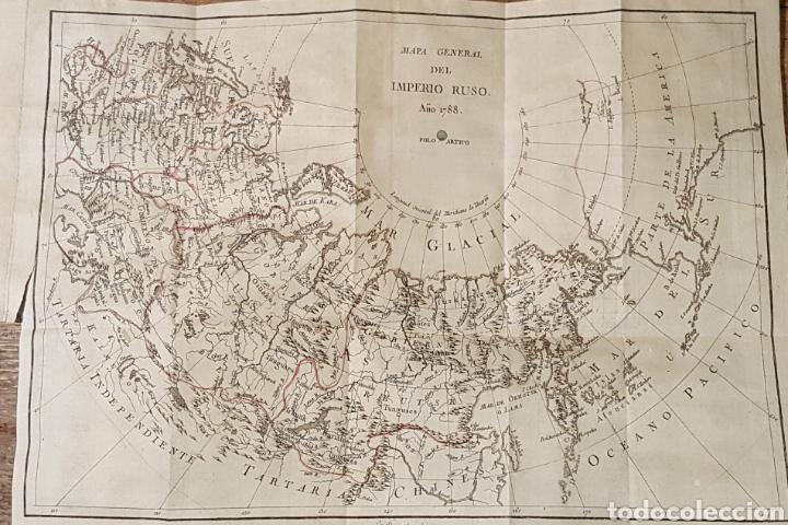 MAPA GENERAL DEL IMPERIO RUSO (1788) (Arte - Cartografía Antigua (hasta S. XIX))
