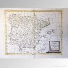 Arte: MAPA DE ESPAÑA (1785) - ANTONIO ZATTA. Lote 149949298