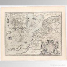 Arte: MAPA DEL REINO DE MARRUECOS (ORTELIUS S.XVI) - A. ORTELIUS. Lote 149949338