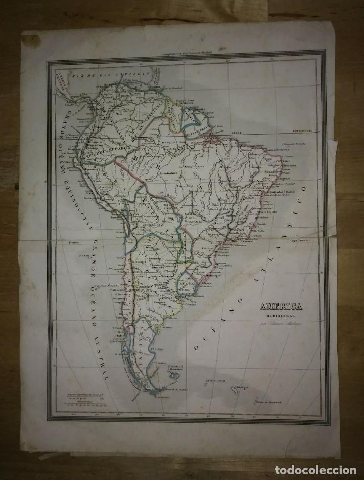 Mapa de América Meridional por Ramón Alabern - 114807547