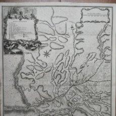 Arte: ELS PRATS DE DEL REY,REI (BARCELONA,CATALUÑA)GUERRA SUCESIÓN.LONDRES[LONDON] 1745.TINDAL/RAPIN/BASIR. Lote 151495350