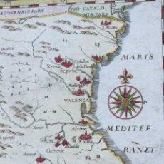Arte: MAPA VALENCIA - MONTECALERIO- AÑO 1649 - ES ORIGINAL. Lote 151569070