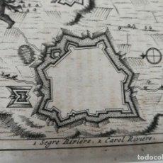 Arte: PLANO DE LA CIUDAD DE PUIGCERDÁ,GERONA, GIRONA, CATALUÑA (CATALUNYA),LEYDEN, 1707. PIETER VAN DER AA. Lote 152277122