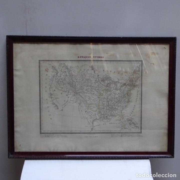 Arte: Grabado de estados unidos de la América septentrional.pablo alabern(grabador)1834. - Foto 2 - 152367082