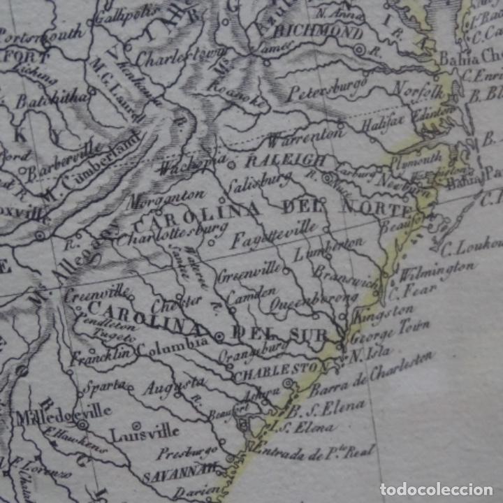 Arte: Grabado de estados unidos de la América septentrional.pablo alabern(grabador)1834. - Foto 3 - 152367082