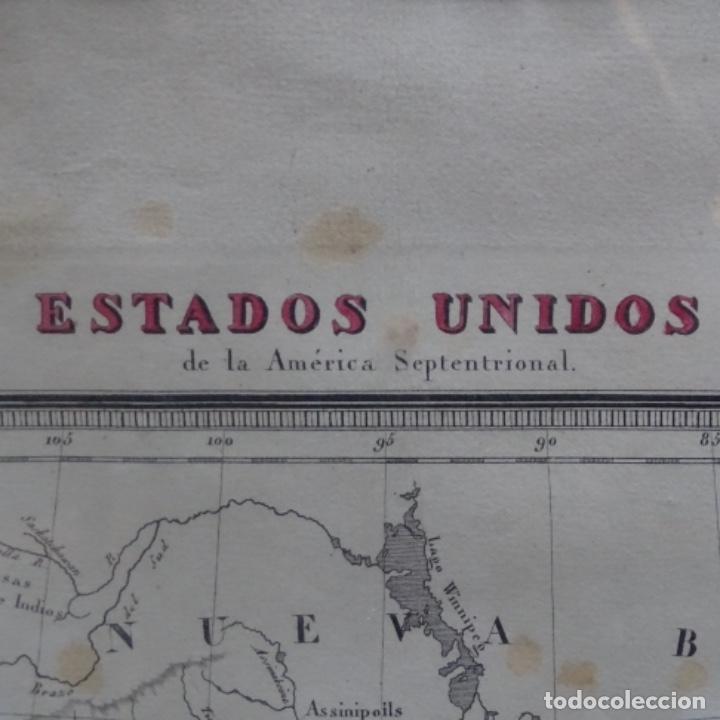 Arte: Grabado de estados unidos de la América septentrional.pablo alabern(grabador)1834. - Foto 4 - 152367082