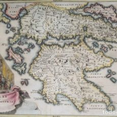 Arte: CELLARIUS - HELLAS SIUE GRAECIA PROPIA - 1701-1720. Lote 152423110