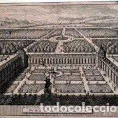 Arte: AA, PIETER VAN DER (1659-1733). VUE DU BUEN RETIRO ENTIER . Lote 152427910