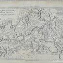 Arte: MAPA DE CASTILLA VALENCIA EXTREMADURA - BONNE - AÑO 1780. Lote 152466870
