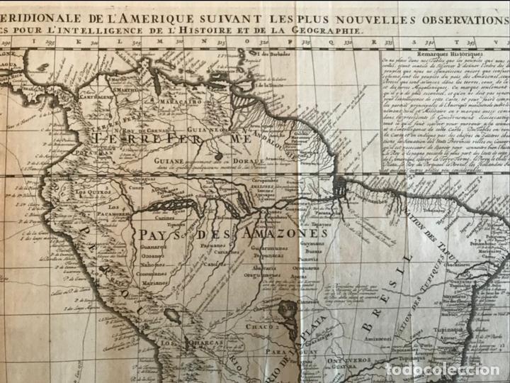Arte: Gran Mapa de América, 1707. Chatelain freres/Guedeville - Foto 8 - 152606740