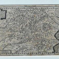 Arte: MAPA CASTILLA VALENCIA EXTREMADURA - KAERIUS - AÑO 1632. Lote 153700858