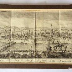 Arte: SEVILLA GRABADO PANORÁMICO ,SIGLO XVIII-IDEAL COLECCIONISTAS. Lote 154295966