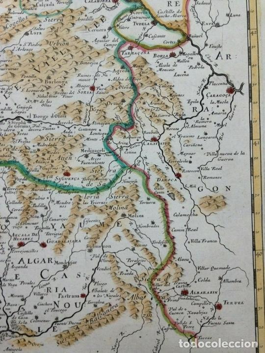 Arte: Gran mapa de Galicia, Asturias, León, Cantabria, País Vasco... (España)1652. Sanson/Mariette/Sommer - Foto 6 - 156877237