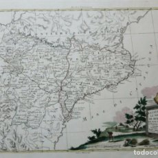 Arte: MAPA DE CATALUÑA, ARAGÓN Y NAVARRA (ESPAÑA), 1775. ANTONIO ZATTA. Lote 156967878