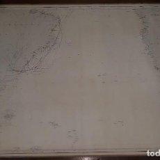 Arte: CARTA NÁUTICA GENERAL DEL OCÉANO ATLÁNTICO, MADRID 1867. Lote 157261314